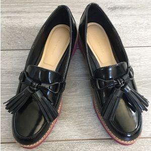 ZARA women tassel loafers